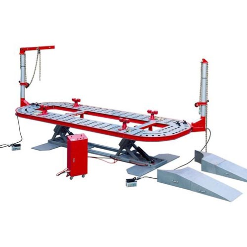 st s3 auto body frame alignment bench