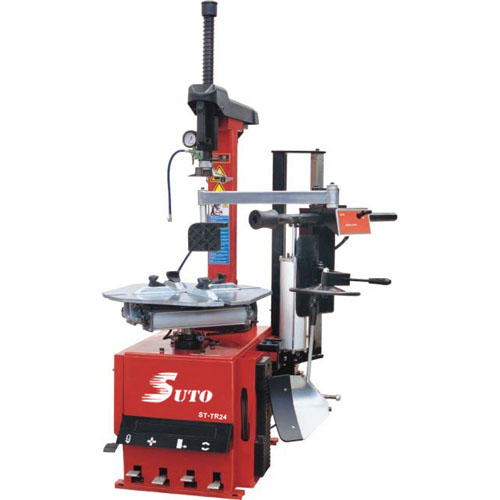 ST-TR24 Tilting column tyre changer with right helper arm