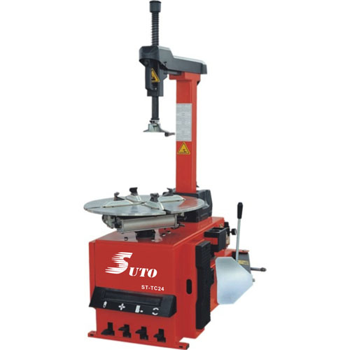 24″ Tire changer tilting column type with optional air booster system ST-TC24/ST-TC24A