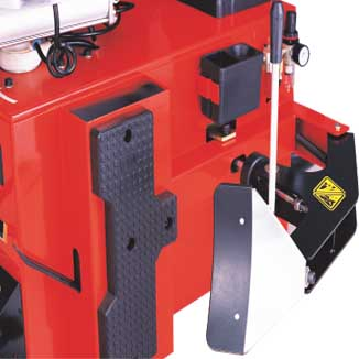 vehicle equipment tyre changing equipment