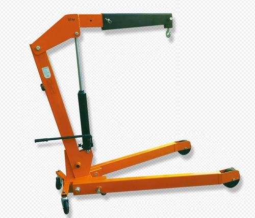 Foldable Heavy-duty hydraulic Shop Engine Crane 2 Ton