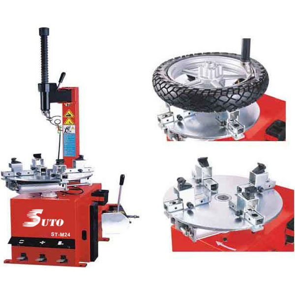swing arm motorcycle tyre changer