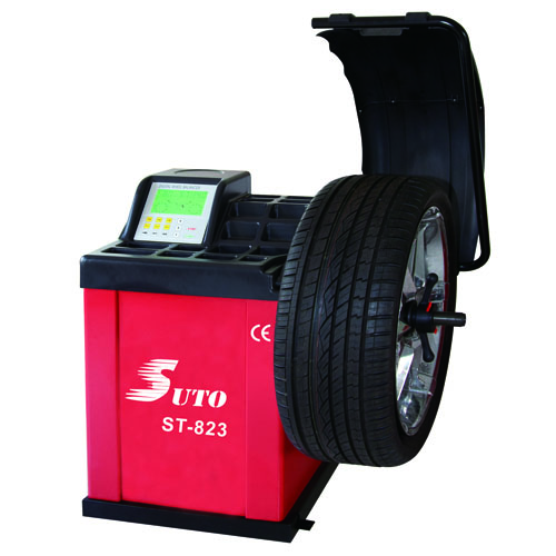 ST-823 Wheel Balancing Automotive Tyre Machine with LCD screen