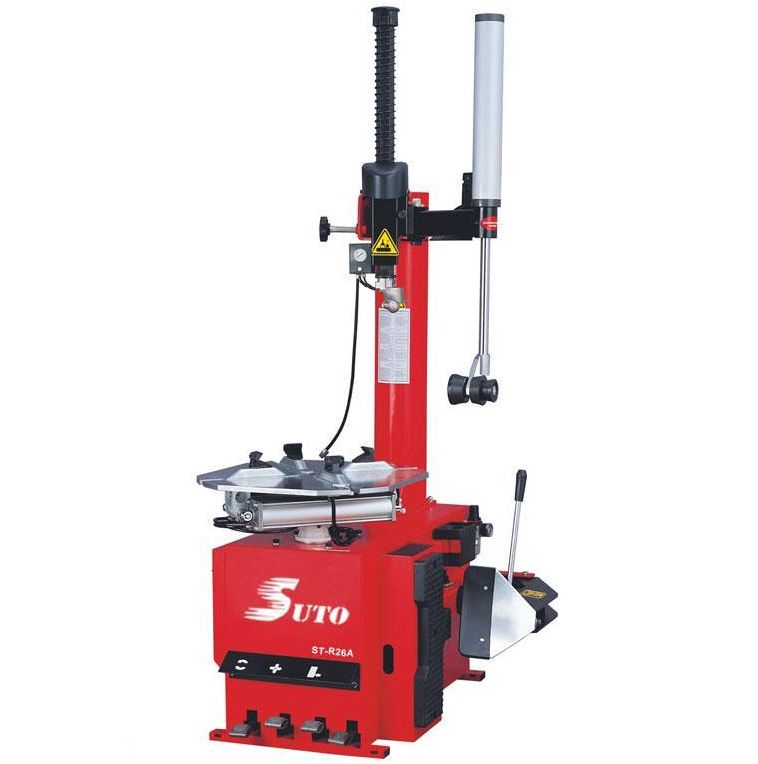 Automatic swing arm tire changer