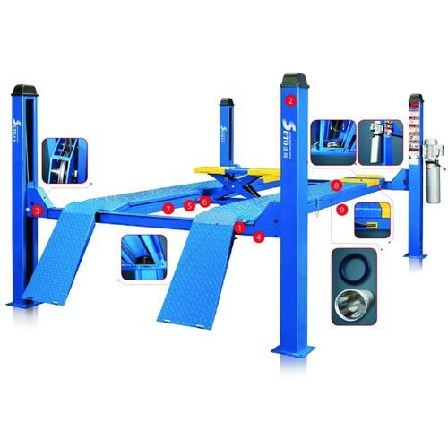 ST-4Z-35 Four post alignment lift 3.5ton