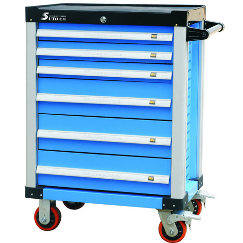 Tool Cabinet 6 Drawer Trolley Tool Cart ST-TC106