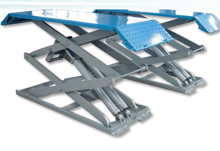 ST-XJ-C30 Ultra Thin Overground Scissor Garage Lift