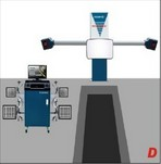 four wheel alignment system